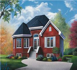 House Plan #126-1330