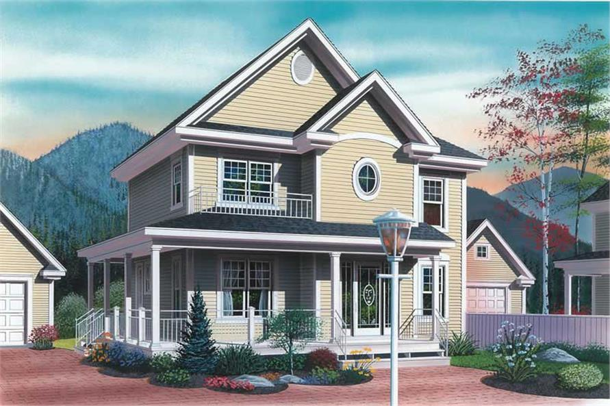 Main image for house plan # 12828