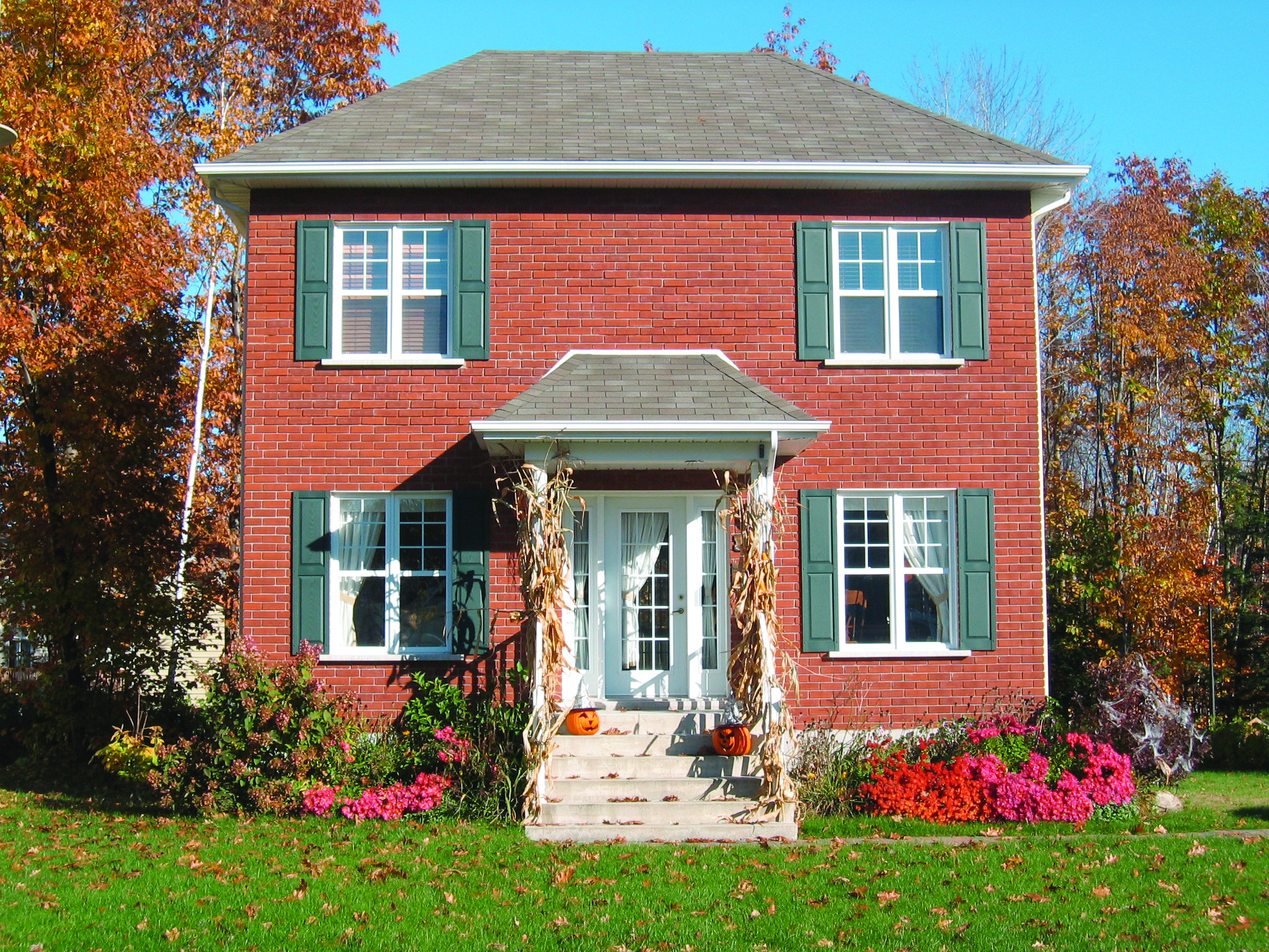 Small Colonial European Historic House Plans House