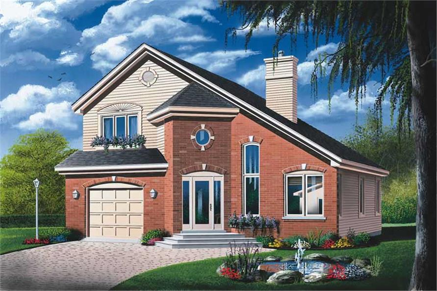 Main image for house plan # 12793