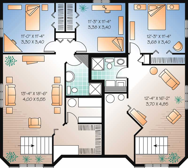 HOME PLAN BASEMENT