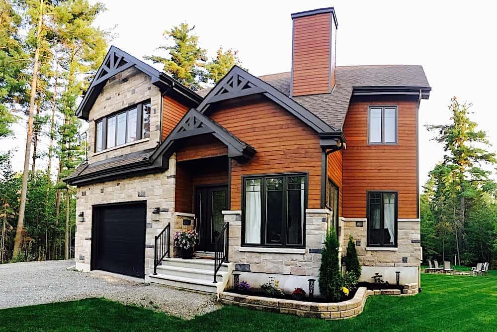 Contemporary home (ThePlanCollection: Plan #126-1361)
