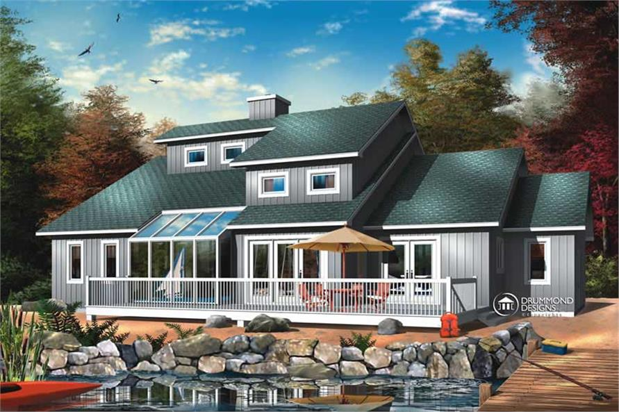Main image for house plan # 8177