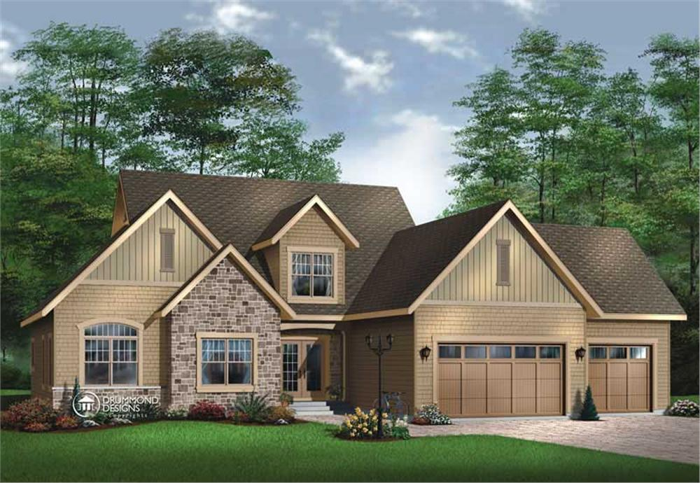 Main image for house plan # 8181