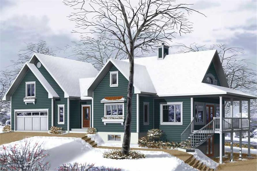 Main image for house plan # 13195