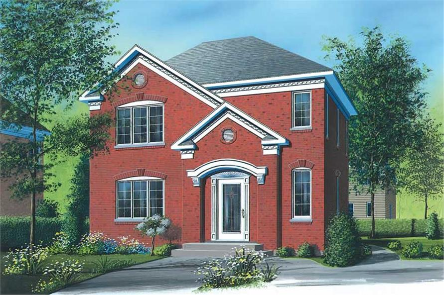 Main image for house plan # 12847