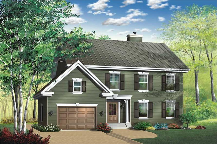 Main image for house plan # 13177