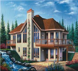 House Plan #126-1391