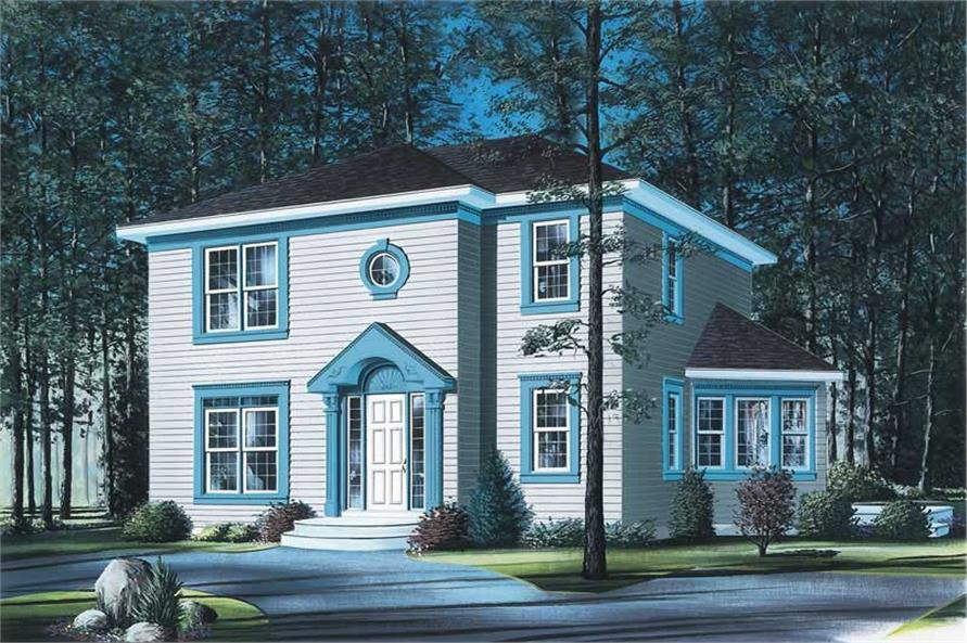 Main image for house plan # 12843