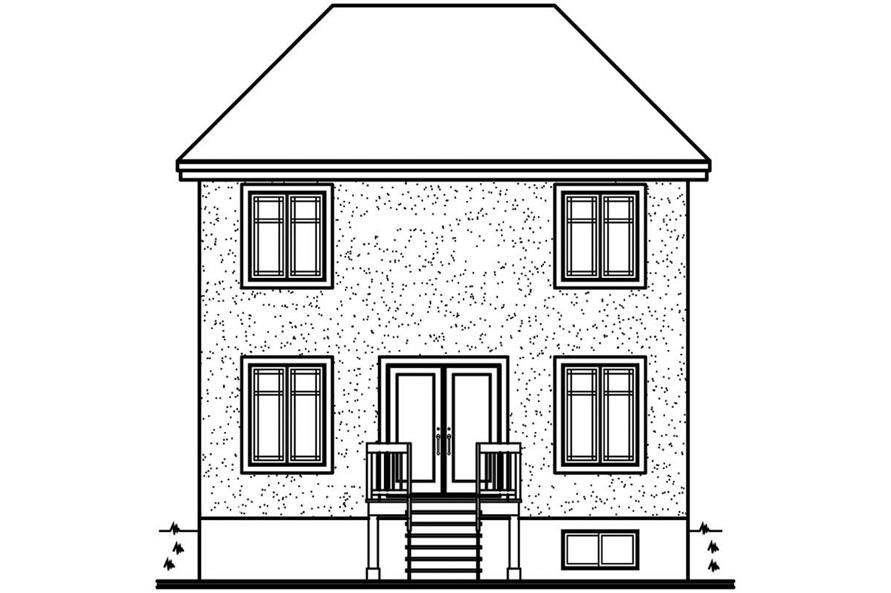 HOME REAR ELEVATION