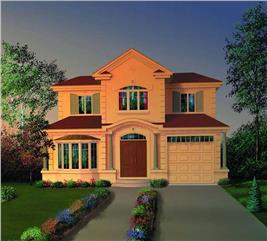 House Plan #126-1402