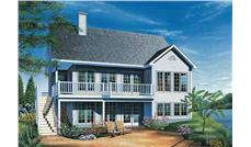 Main image for house plan # 9192
