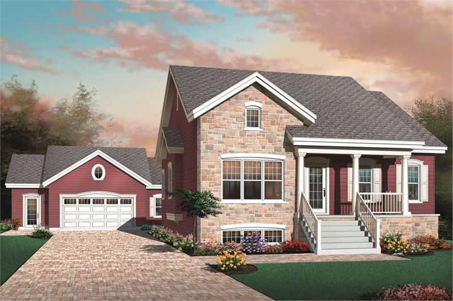 Main image for house plan # 13250