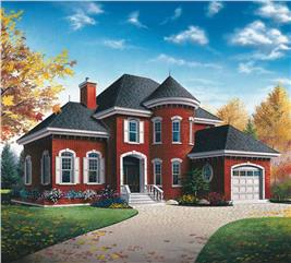 House Plan #126-1411
