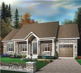 House Plan #126-1416