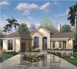 House Plan #126-1418