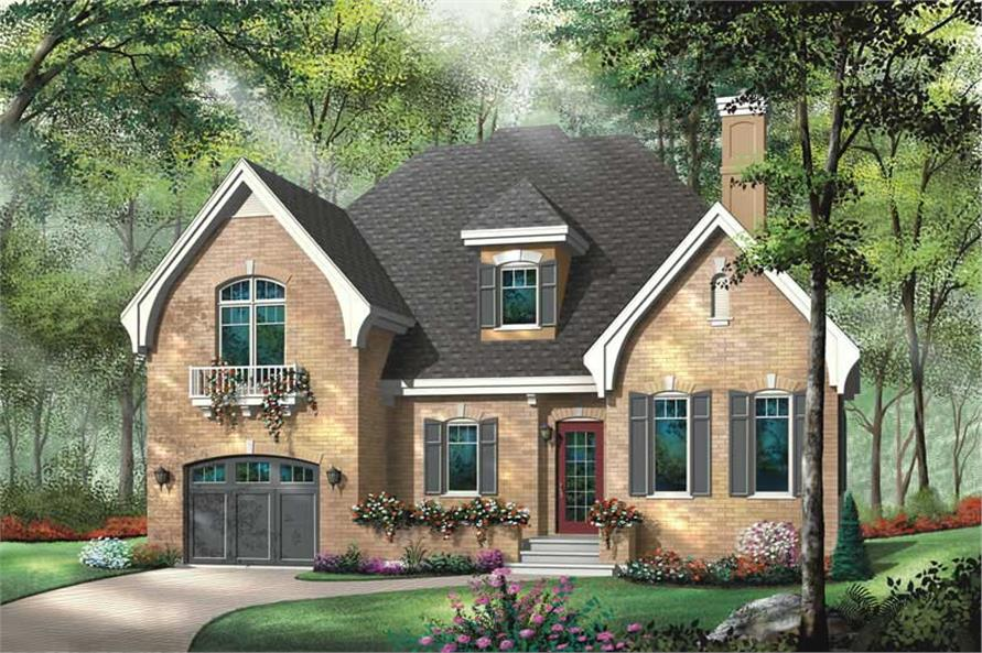 Main image for house plan # 13123