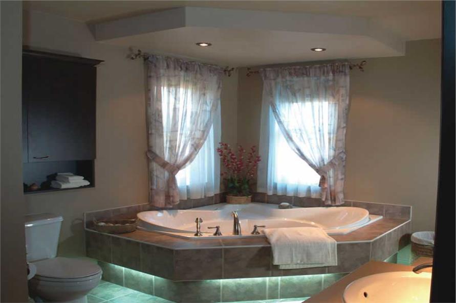 126-1421: Home Interior Photograph-Master Bathroom
