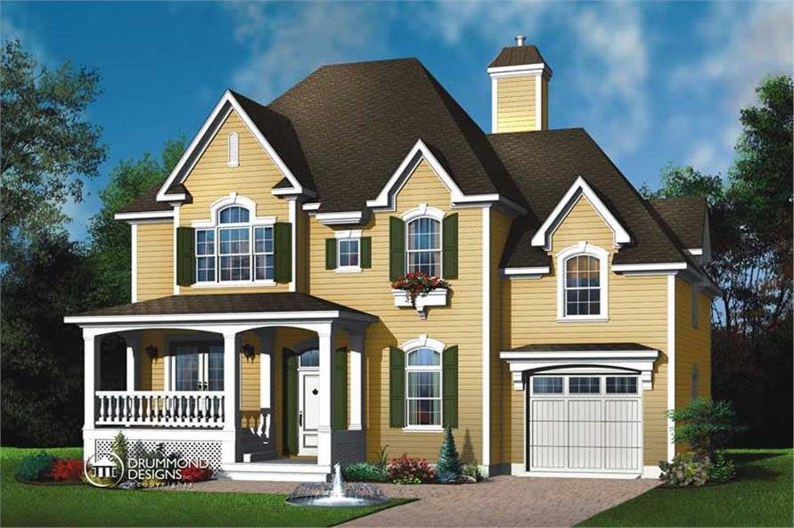 Main image for house plan # 8187