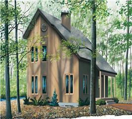 House Plan #126-1428