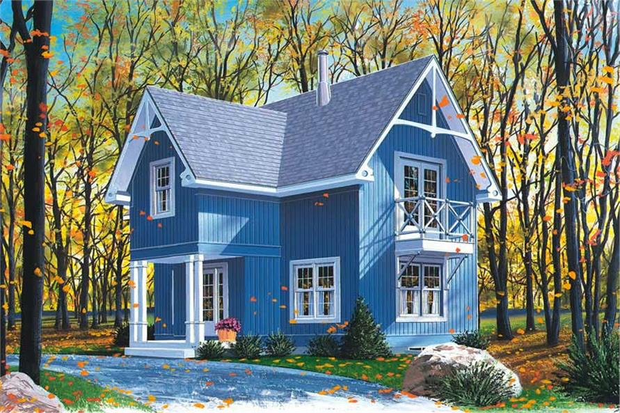 Main image for house plan # 13024