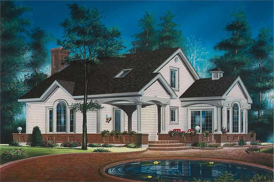 Main image for house plan # 12741