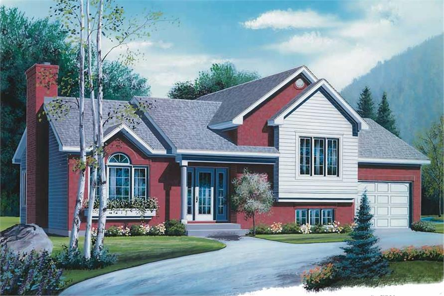 Main image for house plan # 12711