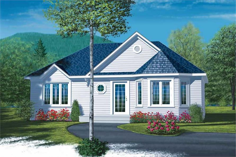 Main image for house plan # 13060