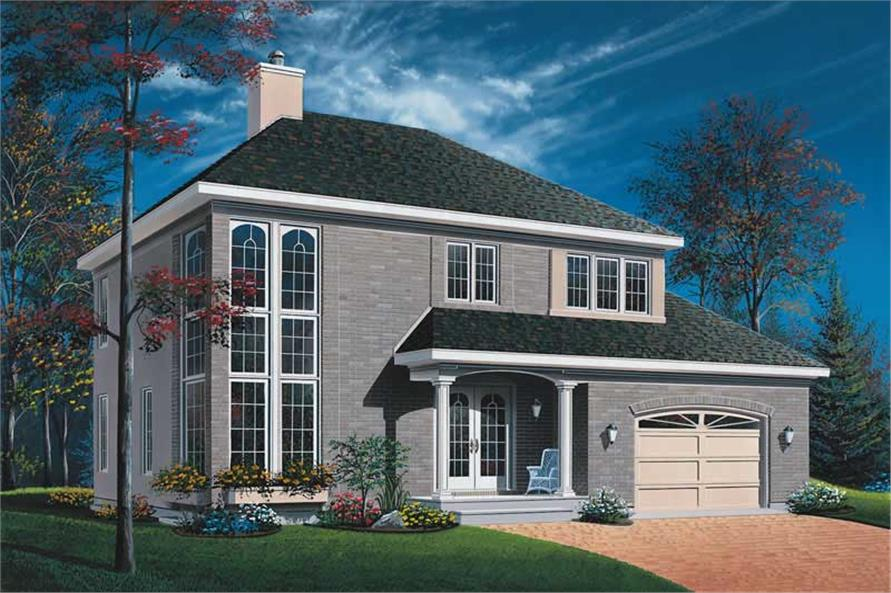 Main image for house plan # 13163