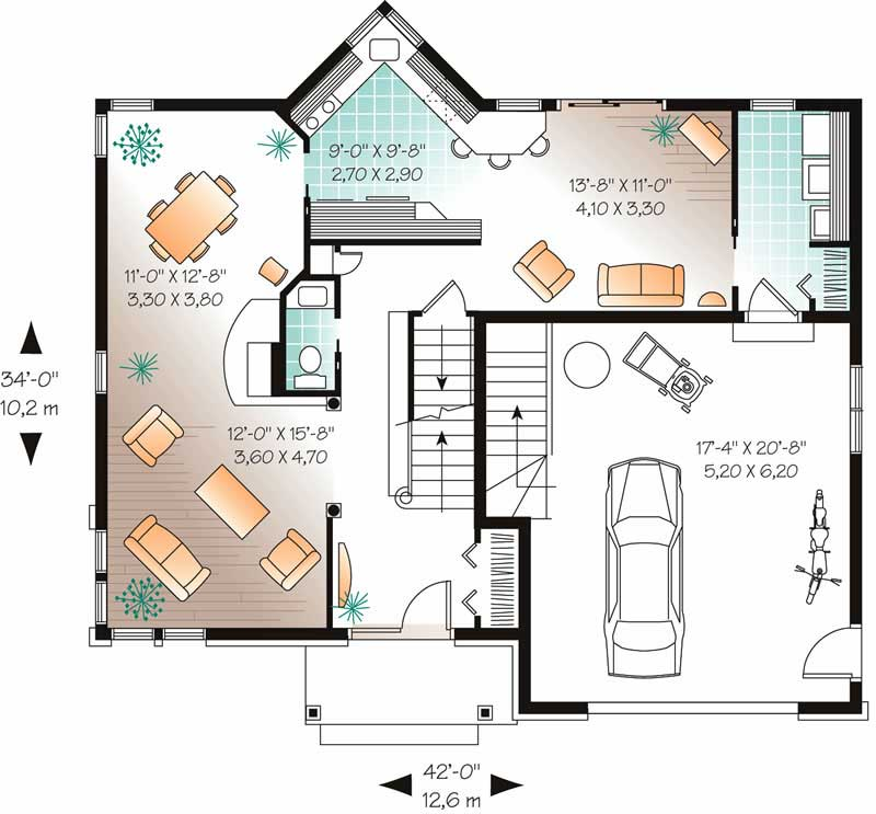 traditional european house plans home design dd 3807