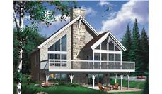 Main image for house plan # 8197