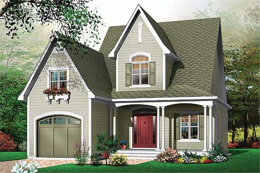 Main image for house plan # 11386