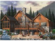 Main image for house plan # 8200