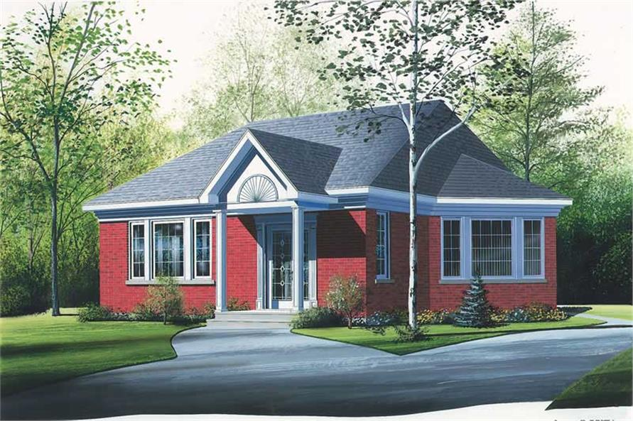 House Plan Small Home Design: Home Design DD-2188 # 12358
