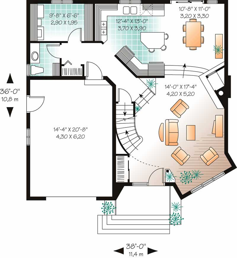 Country house plans home design dd 2444 12606 for 126 simcoe floor plan