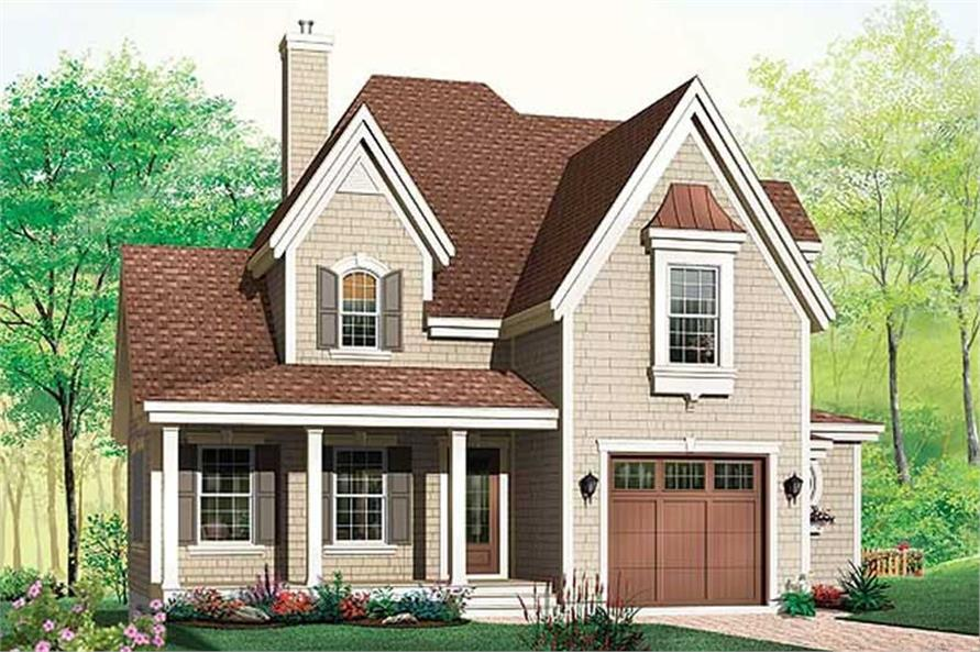 Main image for house plan # 11385