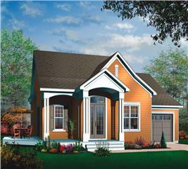 House Plan #126-1484