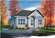 Main image for house plan # 12355