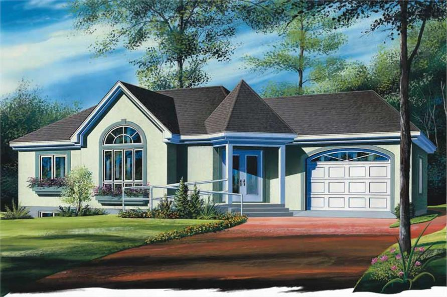 Main image for house plan # 12379