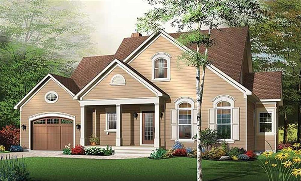Main image for house plan # 11384