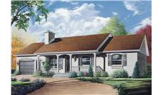 Main image for house plan # 12372