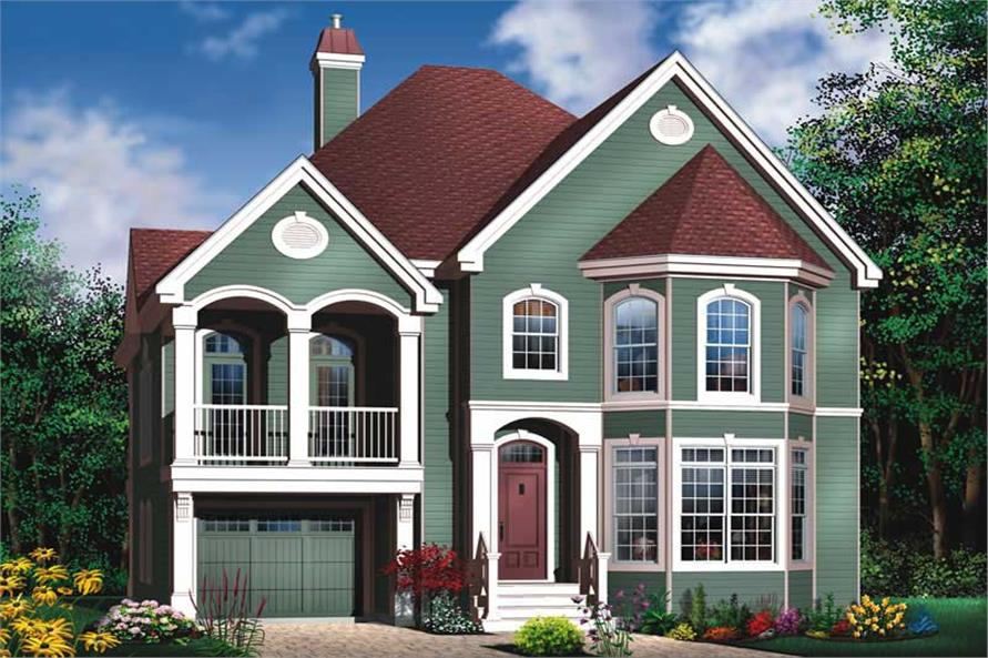 Main image for house plan # 11417