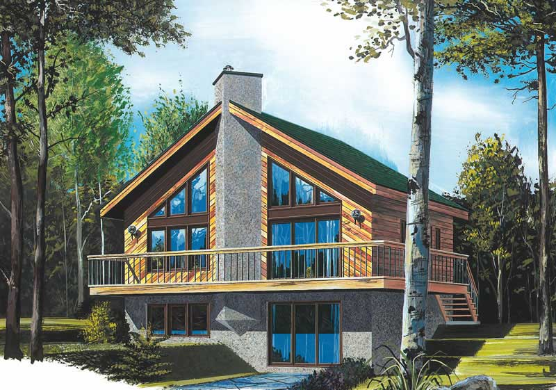 Beachfront, Vacation Homes, Country House Plans