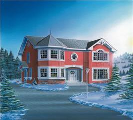 House Plan #126-1521