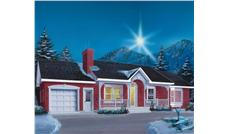 Main image for house plan # 12371