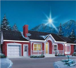 House Plan #126-1525