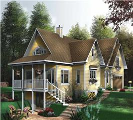 House Plan #126-1533