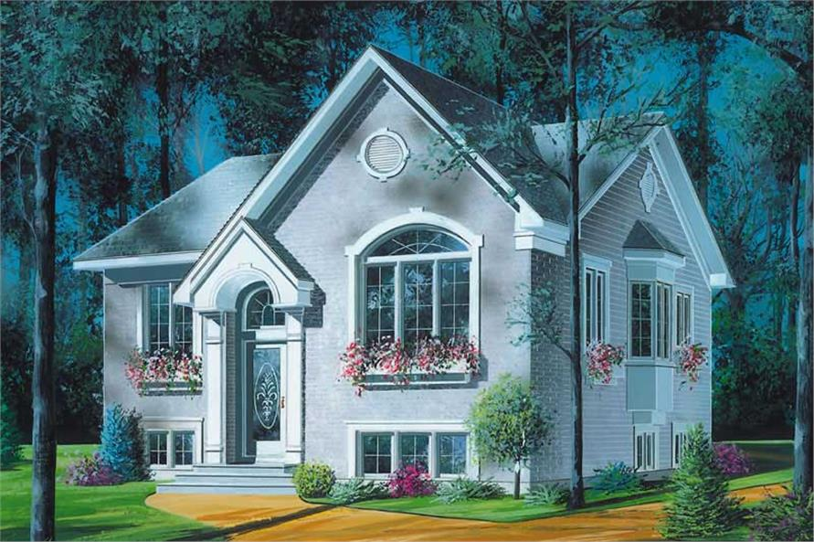 Main image for house plan # 12403