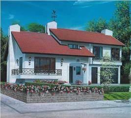 House Plan #126-1540