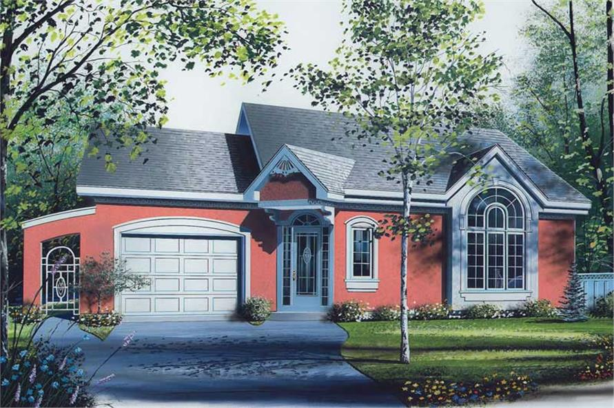 Main image for house plan # 12592
